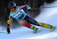 Erik Read in action in the Beaver Creek World Cup giant slalom.