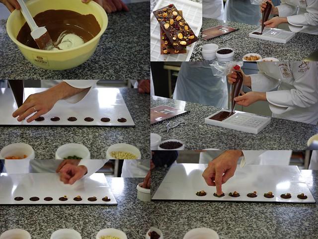 Tempérage et moulage chocolat