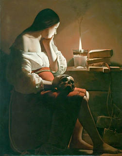 Georges de La Tour  - The Magdalen with the smoking flame