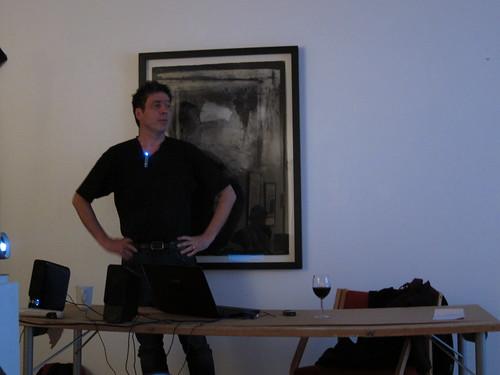 Bernard Østebø presenting