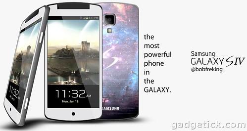 Концепт Samsung Galaxy S4