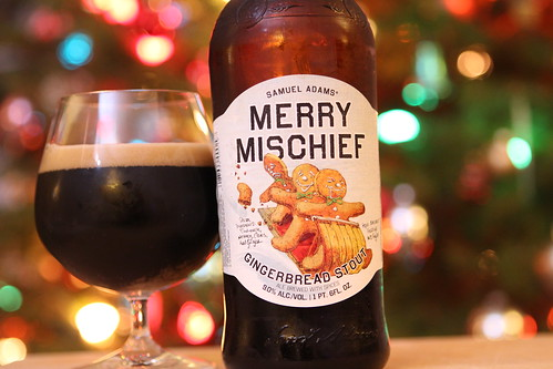 Sam Adams Merry Mischief Gingerbread Stout