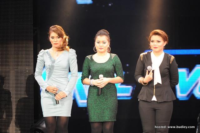 Bella, Mar dan Fatin terpaksa mengharungi pusingan battle dengan lagu Shila Amzah 'Patah Seribu'