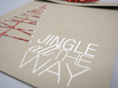 Jingle All The Way Gift Card Holder