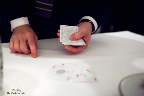 The card trick...unraveling