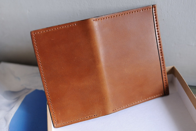 "Whiskey Louis ""Little New York"" Shell Cordovan Front Pocket Wallet"