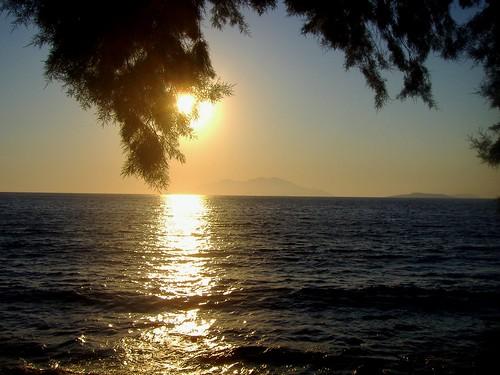 sunset sea summer island holidays mediterraneo tramonto mare estate greece grecia rodi vacanze mediterraneansea isola halki aegeansea glyfada rodhes maregeo