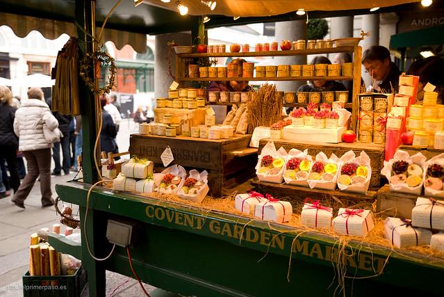 Puesto en Covent Garden Market