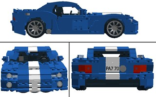 2008 Dodge Viper SRT10 Profiles