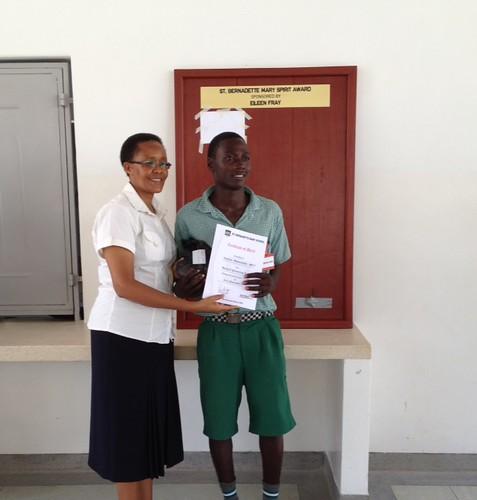 Sister Gertrude awards Cosmos