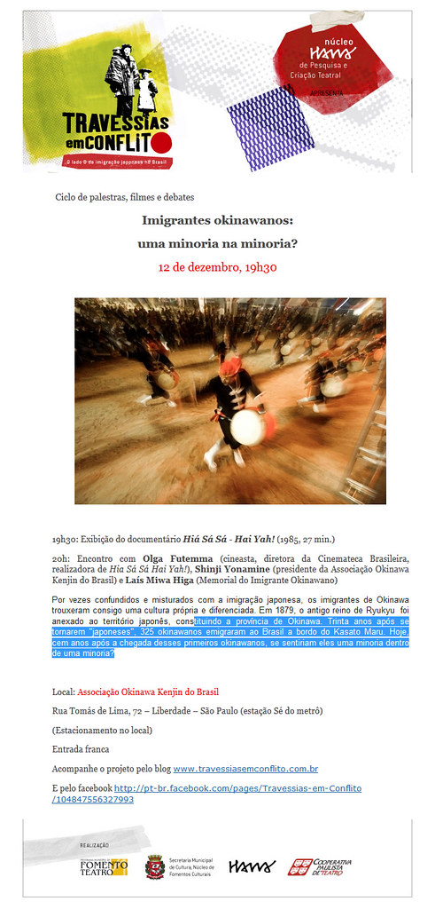 IMIGRANTES OKINAWANOS: UMA MINORIA NA MINORIA?