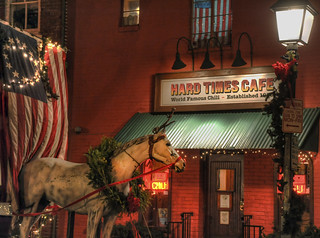Hard Times Cafe, King Street, Old Town Alexandria