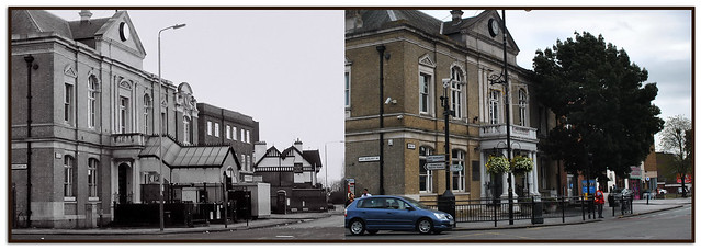 SOUTHALL TOWN HALL, THEN & NOW 1985 - 2012