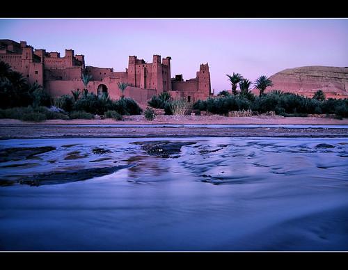 sunset tramonto morocco marocco atlante berberi aitbennhaddou