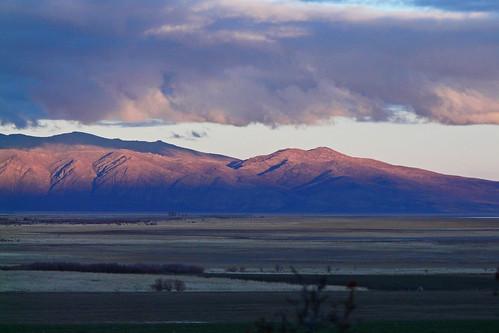 california county sunset mountain pasture commute norcal lassen janesville