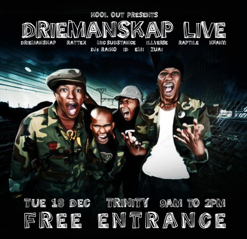 DRIEMANSKAP REEBOK PARTY