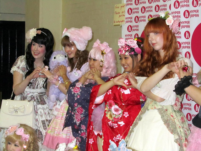 Street fashion at Hyper Japan