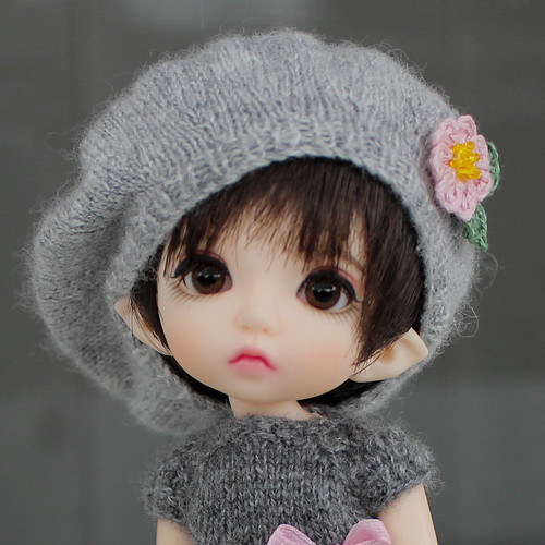 Merino/silk/cashmere hat