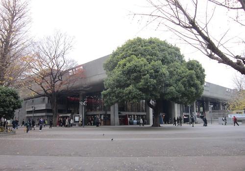 東京文化会館外観 2012年12月15日 by Poran111