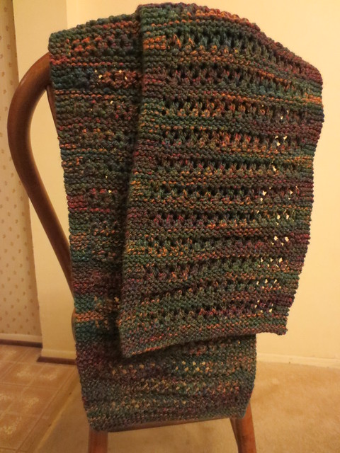 Finished but for blocking