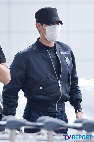 Big Bang - Incheon Airport - 26jun2015 - TV Report - 21