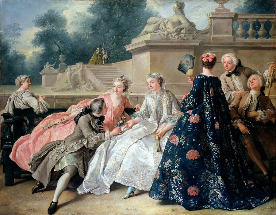 The Declaration of Love by Jean François de Troy, 1731