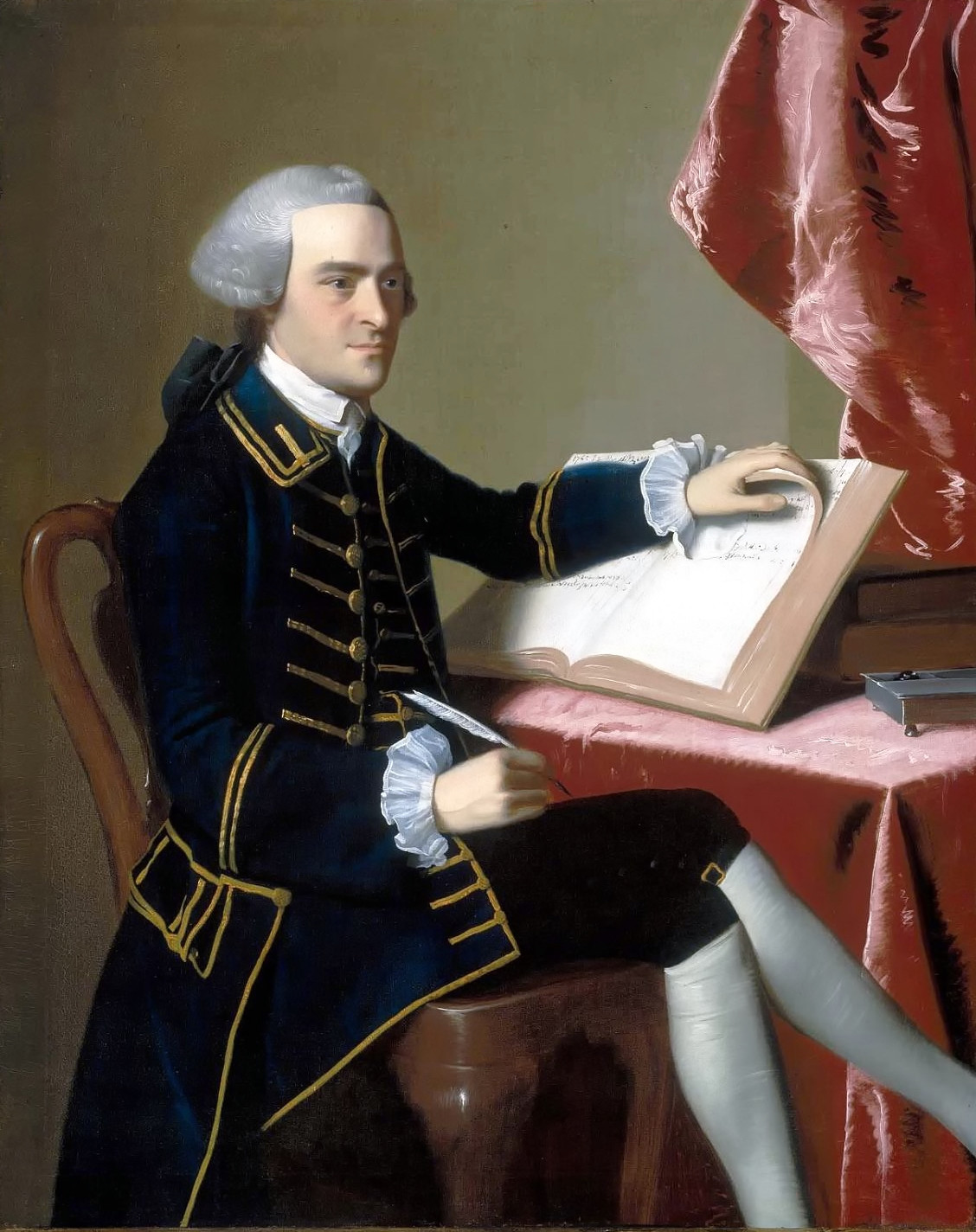 John Hancock by John Singleton Copley, 1765