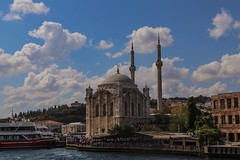 The Ortaköy Mosque on the banks of the Bosporus Strait was just one of the beautiful sights I saw on my City Discovery cruise today. #travel #CityDiscovery #istanbul @CityDiscovery