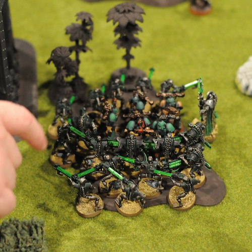 Necron vs Chaos scrum