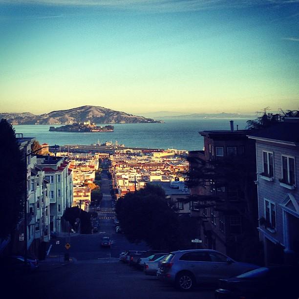 Half dark, half Alcatraz.