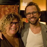 WFUV at Del Posto: Rita Houston and Jesse Harris