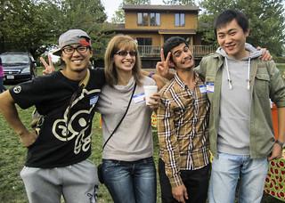 International students picnic