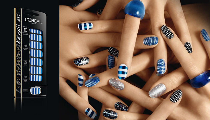 Loreal Paris Nail Stickers For Fallwinter 2012 News Beautyalmanac