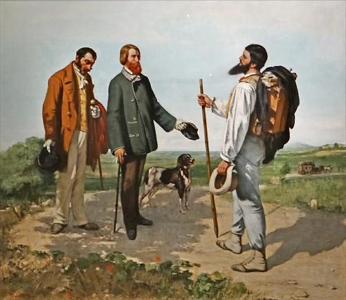 Gustave Courbet (Bohèmes, Grand Palais)
