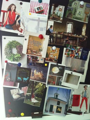 december inspiration board 2