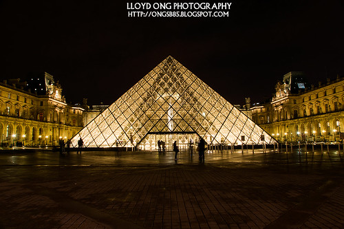 Louvre Night Shot