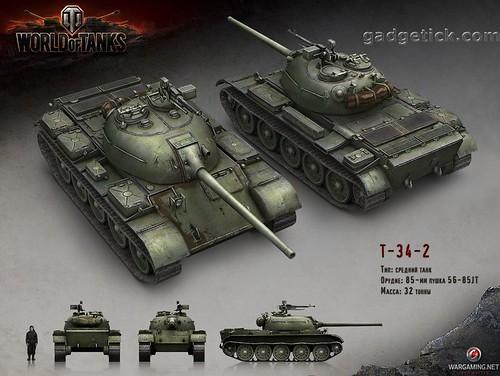 Характеристики Е-34-2