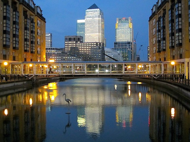 canary wharf from the hilton flickr photo sharing. Black Bedroom Furniture Sets. Home Design Ideas