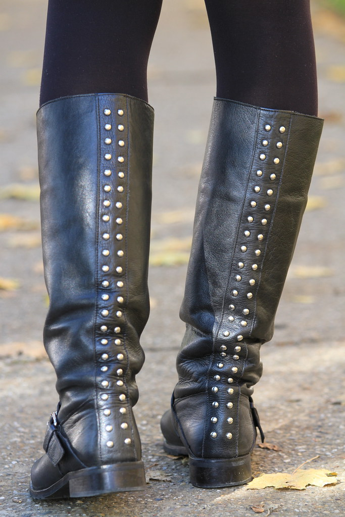 perfect shool boots, flat, trendy