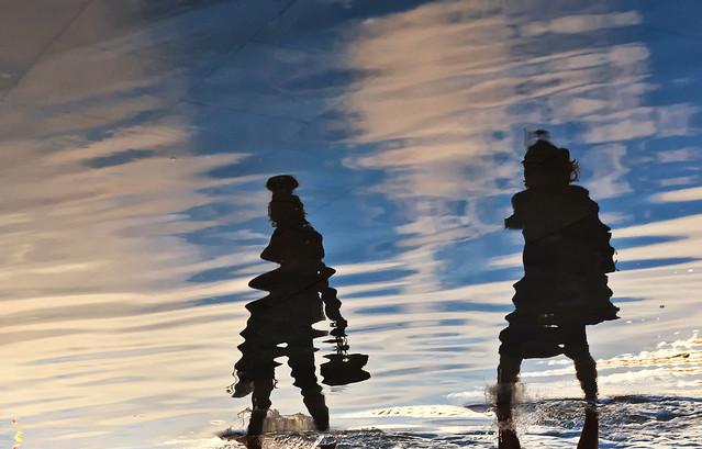 riflessioni di alta marea
