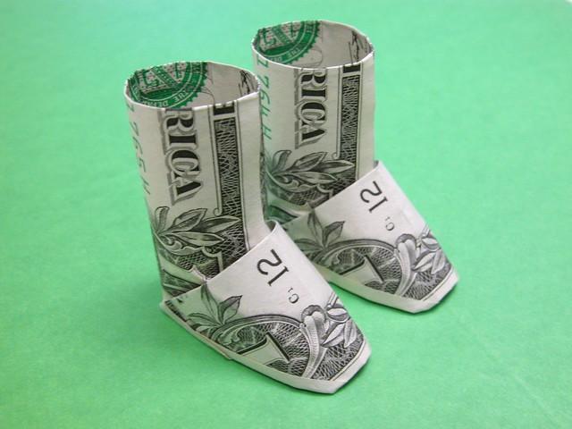 Dollar Bill Boots Uggs Design Yamaguchi Makoto Book