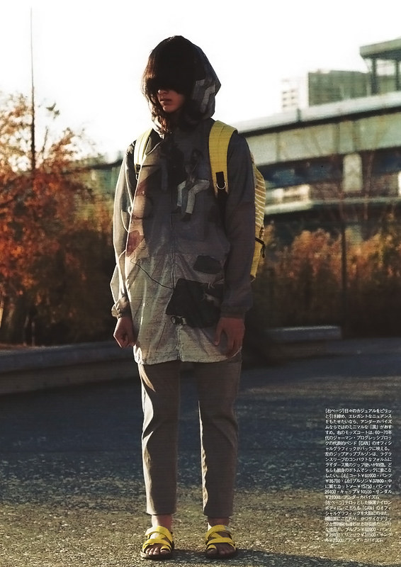 Tuukka13 - Non-Black Backpack Inspiration - Japanese Magazine
