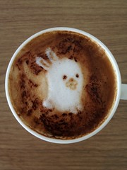 Today's latte, Plan 9.