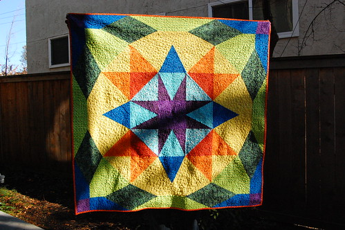 Star Wreath Quilt