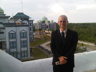 Tom Worthington at UIN Suska University of Riau