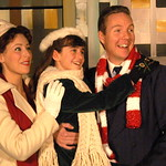 "Arvada Center Miracle on 34th St Picture L_R Lauren Shealy (Doris)_Regan Fenske (Susan)_Jody Madaras (Fred) Photo P. Switzer 2012 - PHOTO INFORMATION IS NOTED IN TITLE INCLUDING ACTORS PICTURED AND PHOTOGRAPHER CREDIT - PLEASE INCLUDE IN ALL REPRINTS.   Based on the delightful movie classic that starred Edmund Gwenn as Kris Kringle and a young Natalie Wood, this musical version includes memorable songs such as ""Jolly Old St. Nicholas,"" ""The Holly…"