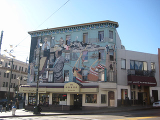 North Beach Jazz Mural