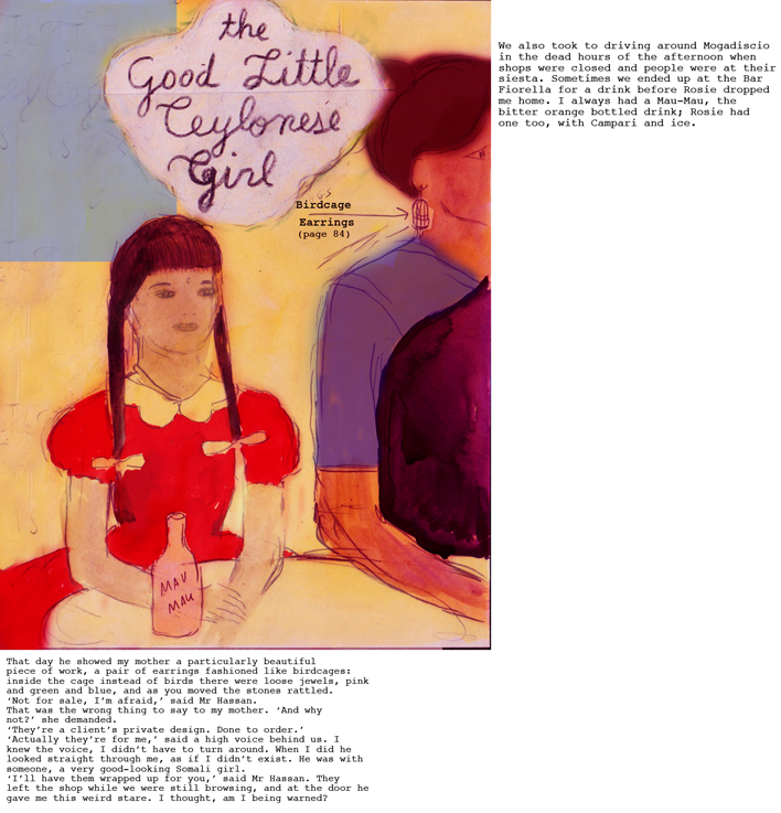 THE GOOD LITTLE CEYLONESE GIRL by ASHOK FERREY rough 2