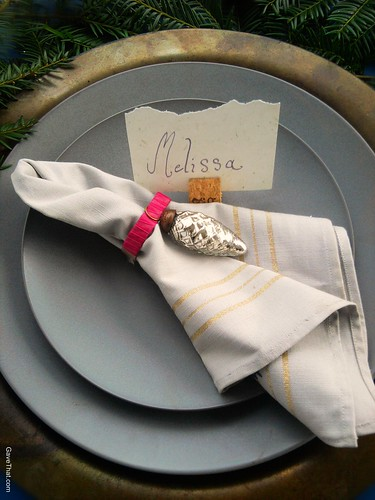 DIY Ornament Napkin Rings