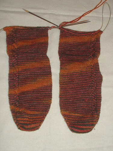 recent knitting 11-13-12 socks